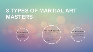 different opinions on the true art of martial arts